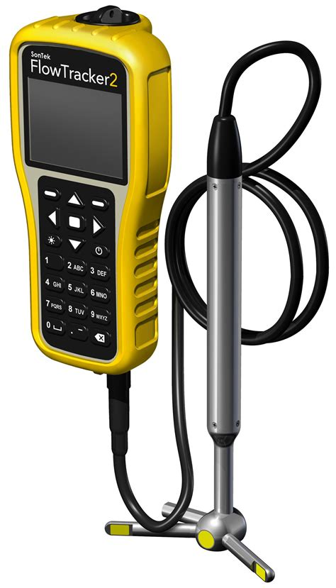 SonTek - FlowTracker Handheld-ADV for field velocity ...