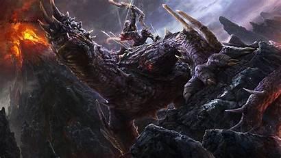 4k Dragon Wallpapers Fantasy Ultra Desktop Amazing
