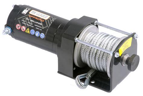 seilwinde 12 volt power series 174 12v seilwinde 3000 eco 1360kg