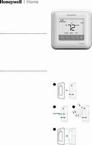 Honeywell T4 Pro Thermostat Installation Instructions
