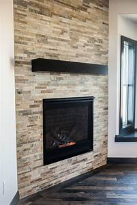 Corner, Angle, Tiled, Fireplace, Surround, Wall