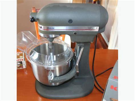 Kitchenaid Mixer Ksm5 by Kitchen Aid Pro Line Stand Mixer Ksm5 Qualicum Parksville