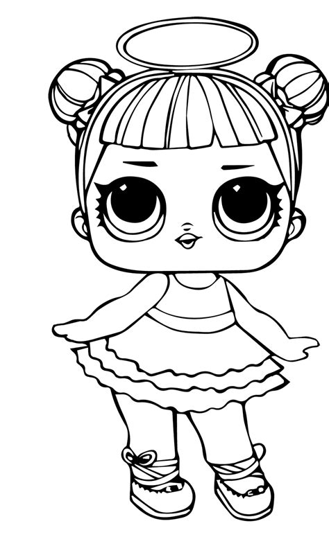 lids siobhan lol doll colouring pages