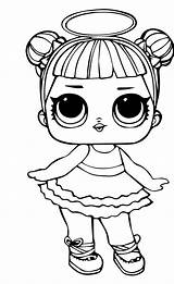 Lol Coloring Doll Pages Heartbreaker Colouring Printable Siobhan Unicorn Posted Lids Duff Am sketch template