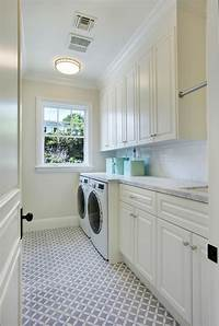 laundry room flooring Los Angeles Family Home with Transitional Interiors - Home ...