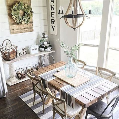 Farmhouse Dining Room Decorating Ideas by 25 Calmness Dining Room With Farmhouse Style And Vintage