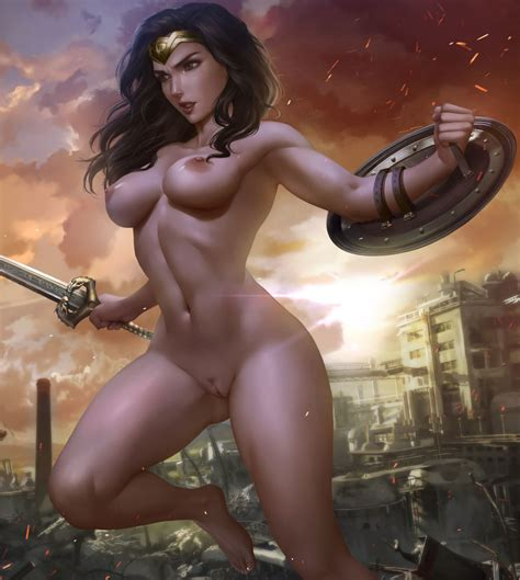 Rule 34 Absurdres Areolae Breasts Dc Diana Prince Female