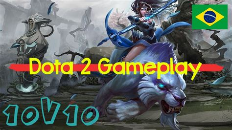 1 dota 2 10v10 gameplay mirana portugu 234 s youtube