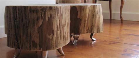les tables troncs d arbre un concept venu du canada marcelgreen
