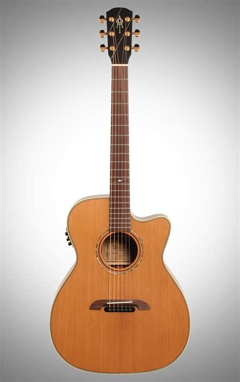 Alvarez WY1 Yairi Folk Cutaway Acoustic-Electric Guitar ...