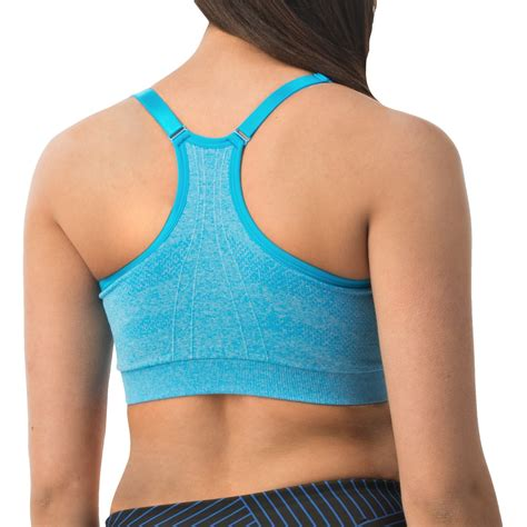 reebok illusion seamless sports bra  women save