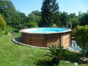 Amenagement Autour Piscine Hors Sol : amenagement piscine exterieure hors sol ~ Nature-et-papiers.com Idées de Décoration