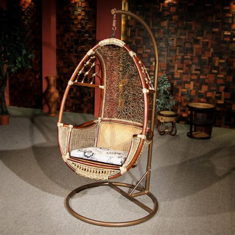build hammock chair stand with hanging indoor rattan swing