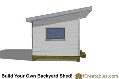 10x20 modern studio shed plans