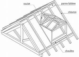 Lucarne De Toit : la charpente en bois mise en place d 39 une lucarne dans ~ Melissatoandfro.com Idées de Décoration