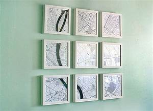 Creative diy map projects styletic