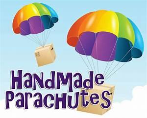 handmade parachutes craft science experiment