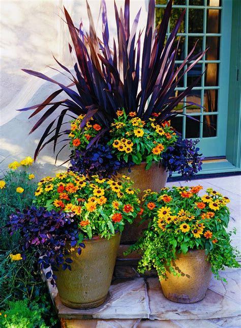 Easy Summer Container Garden Flowers Ideas 58