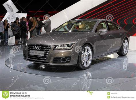 The New Audi A7 Quattro Editorial Stock Image Image