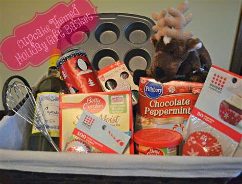 gift basket shopping and cupcake batter cookies the domestic geek blog