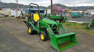 2013 John Deere 1025r Tractor For Sale  261 Hours