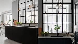 Verriere Pour Cuisine : maison cuisine ouverte verriere ~ Premium-room.com Idées de Décoration