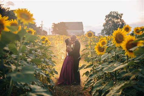 malisa mat sunflower field engagement washington dc