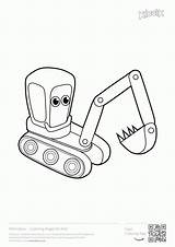 Coloring Excavator Digger Construction Printables Colouring Printable Drawings Excavators Drawing Toddler Popular Boys Toddlers Games Coloringhome Ford sketch template