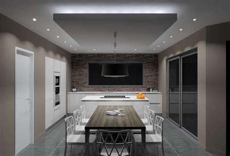 spot dans cuisine eclairage faux plafond cuisine luminaire cuisine spot
