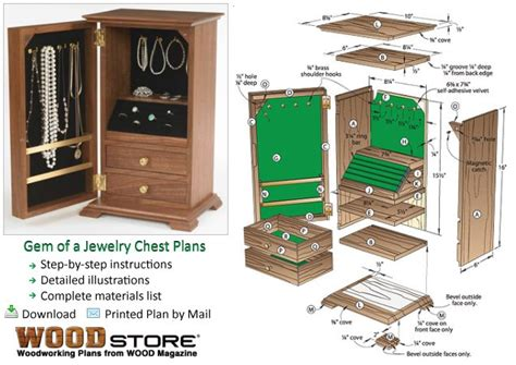 crafted wooden boxes build   jewelry box woodworking blueprints software