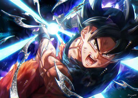 Ultra Instinct Goku By @miyabi_db_3