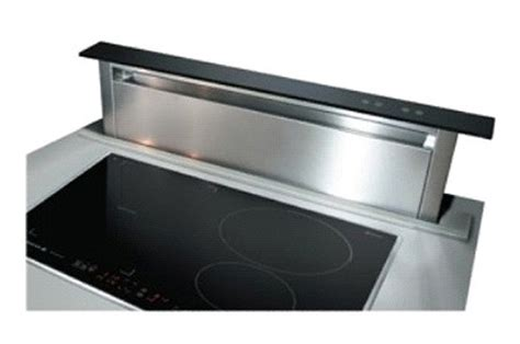 hotte aspirante encastrable cuisine hotte escamotable de dietrich dhd 7000 x inox dhd 7000 x 2567202 darty