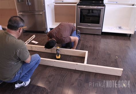 kitchen island installation customikeakitchenisland1 pln 1930