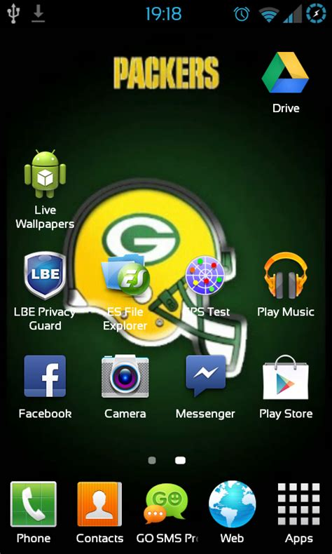 Free Green Bay Packers NFL Live Wallpaper APK Download For ...
