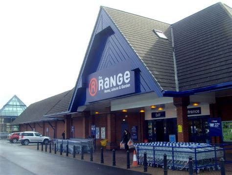 the range store the range home store open at retail park