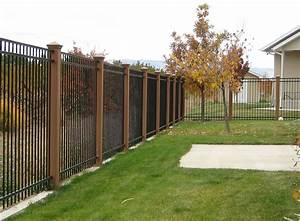 Black, Metal, Fence, Prices, Home, Ideas, Collection
