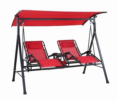 Canopy Porch Swings Patio Reclining Cup Swing