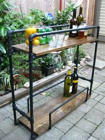 portable kitchen island with bar stools 14 inspiring diy bar cart designs and makeovers