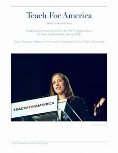 teach for america essay sample