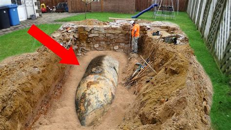 How To Bury A In The Backyard by Strangest Things Found In Their Backyard