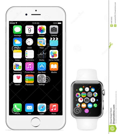 iphone 6 plus vector iphone 6 apple editorial image image 44873450