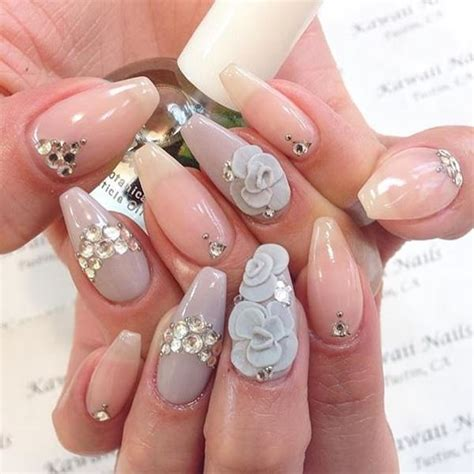 acrylic nail design ideas 66 amazing acrylic nail designs that are totally in season