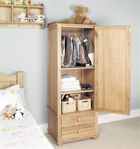 Small Single Wardrobe by 15 Best Collection Of Single Oak Wardrobes With Drawers