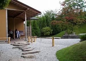 Pflanzen Japanischer Garten : kleine ueberdachte terrasse japanischer garten ~ Lizthompson.info Haus und Dekorationen