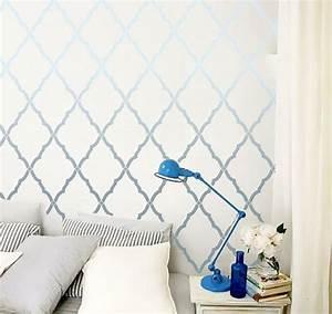 Schablone Wand Barock : die besten 25 marokkanische wandschablonen ideen auf pinterest marokkanisches design ~ Bigdaddyawards.com Haus und Dekorationen