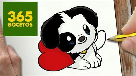 como dibujar perrito kawaii paso a paso dibujos kawaii faciles how to draw a
