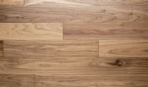 Natural  American Walnut Flooring, Hand Scraped, Brown