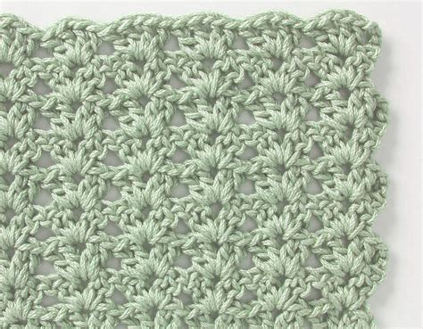crochet stitch patterns free crochet stitch shell pattern crochet kingdom