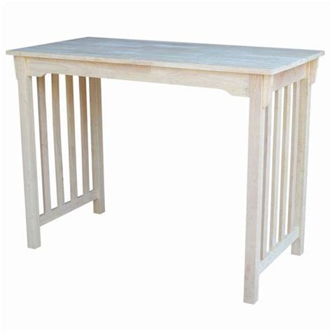 unfinished counter height table 984t2448 055