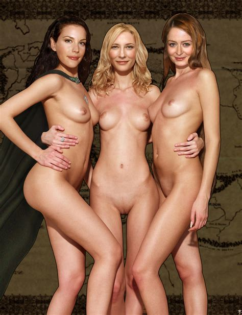 Liv Tyler Cate Blanchett Miranda Otto Fake Album
